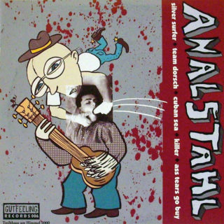 "Analstahl/Munich Punx - Split 10"" Vinyl"