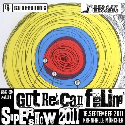 Gut Red Can Feeling Supershow 2011