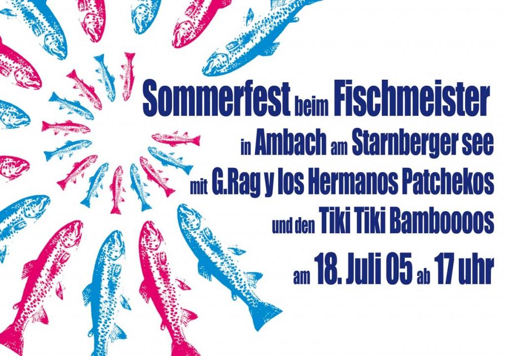 G.Rag y los Hermanos Patchekos, Fischmeister, 2005