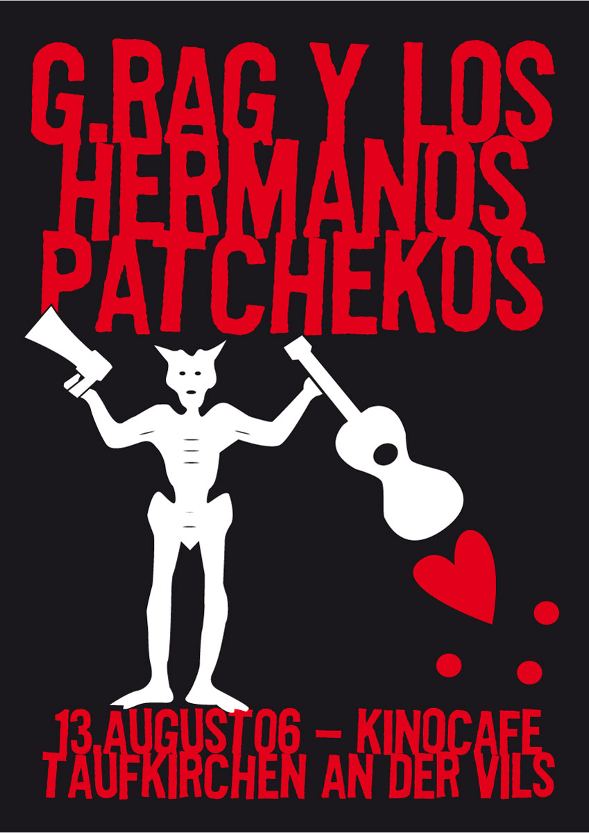 G.Rag y los Hermanos Patchekos, Taufkirchen, 2006 1