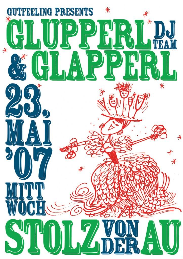Glupperl & Glapperl, Stolz von der Au, Mai 2007