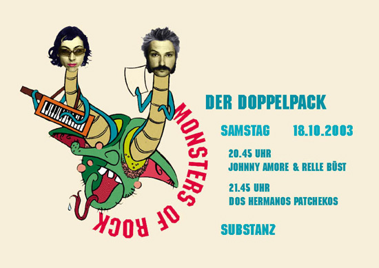 Doppelpack, Johnny Amore & Relle Büst, Dos Hermanos, Substanz, 2003 1