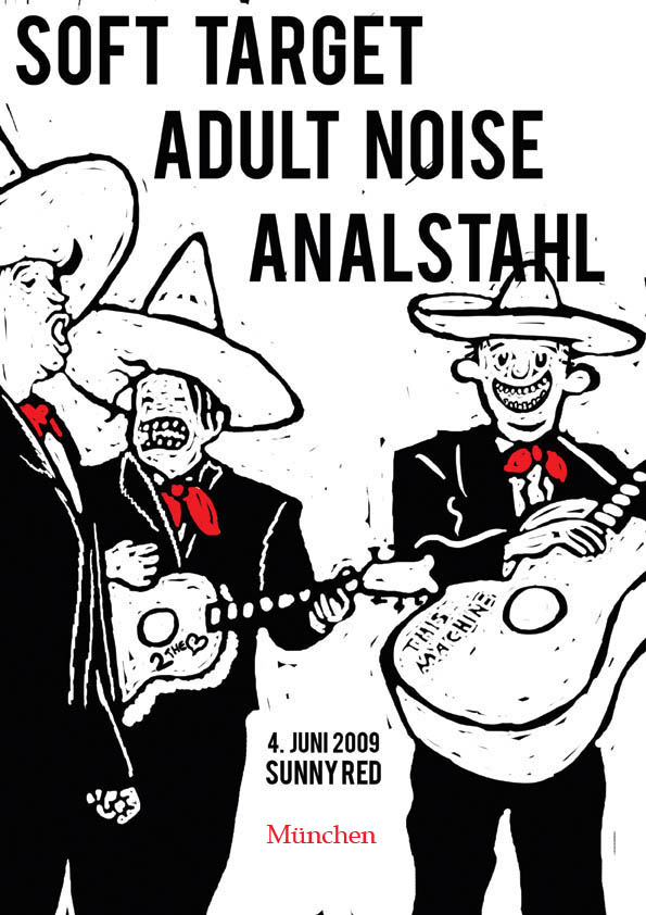 Analstahl, Soft Target & Adult Noise, Sunny Red, 2009