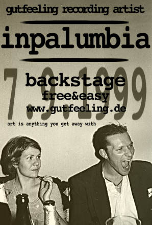 InPalumbia, Backstage, 1999