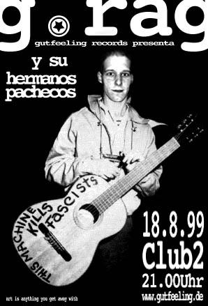G.Rag y su Hermanos Pachecos, Club2, 1999