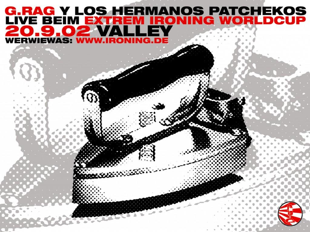 G.Rag y los Hermanos Patchekos, Extreme Ironing, 2002