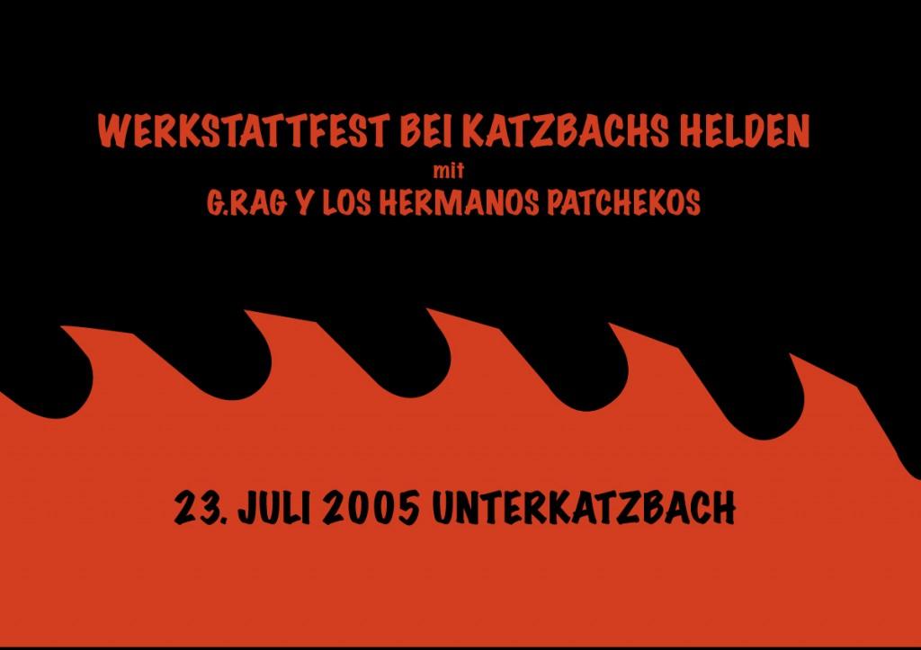 G.Rag y los Hermanos Patchekos, Katzbach, 2005