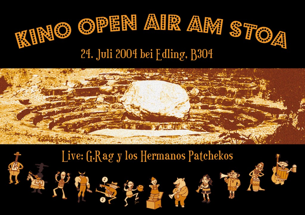 G.Rag y los Hermanos Patchekos, Kino am Stoa, 2004