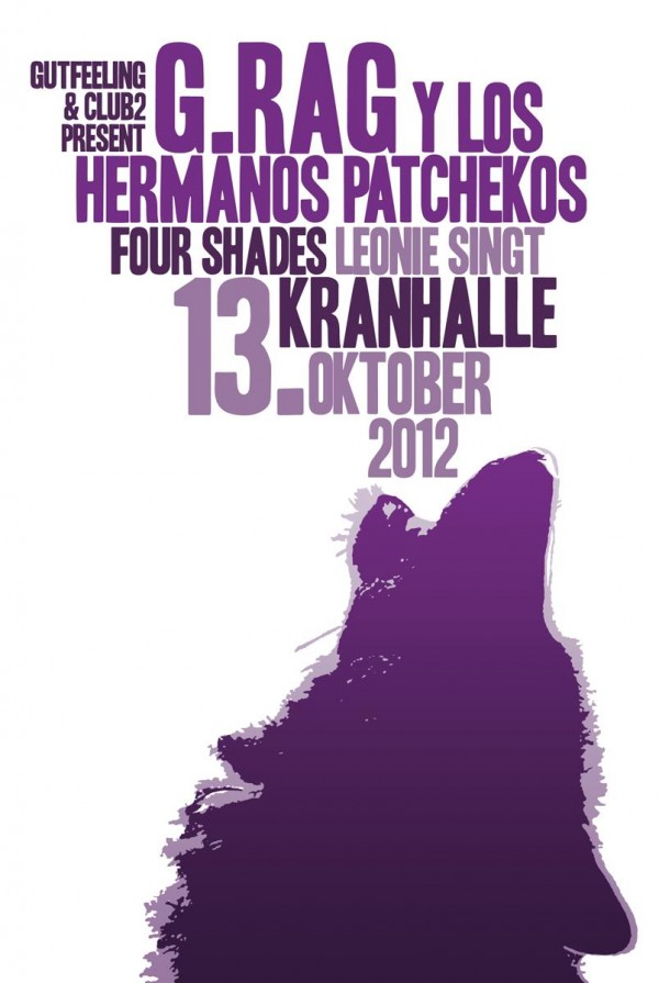 Patchekos & Friends am 13. Oktober