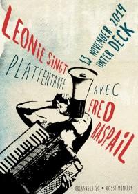 13. 11.14: Leonie singt & Fred Raspail im Unter Deck, München