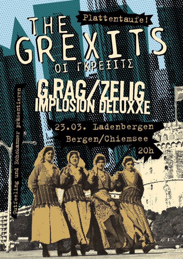 The Grexits:  Release on TOUR