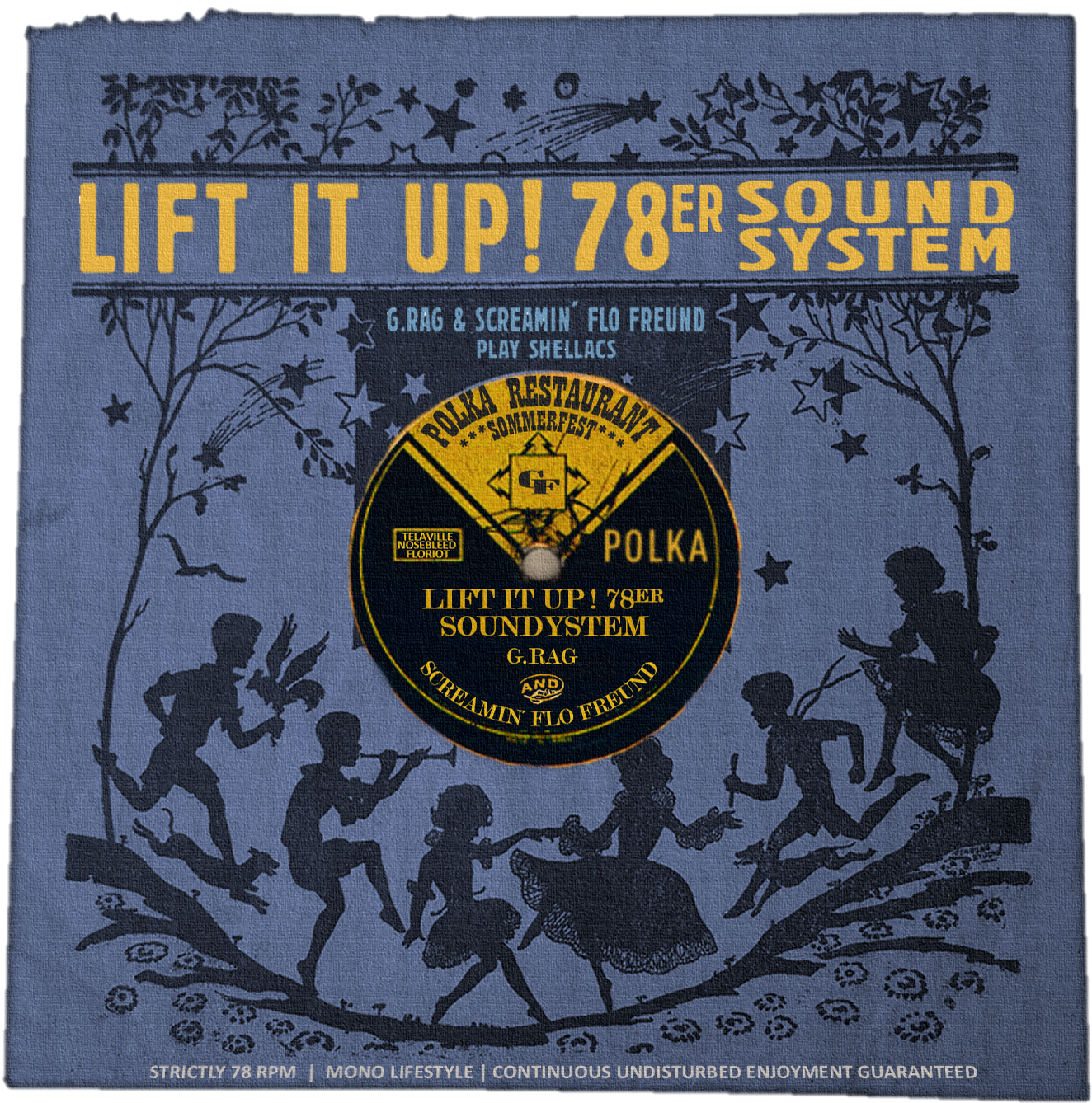 14. August: POLKA Sommerfest mit Lift it Up Soundsystem + Flo Keller