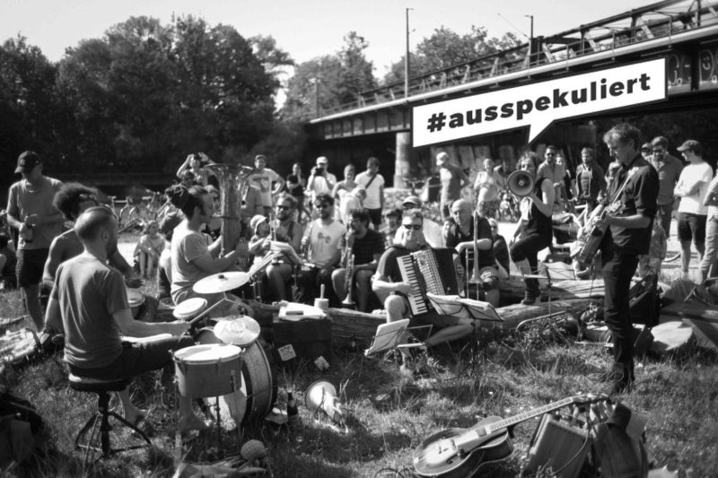 15. September: #ausspekuliert Demo 1