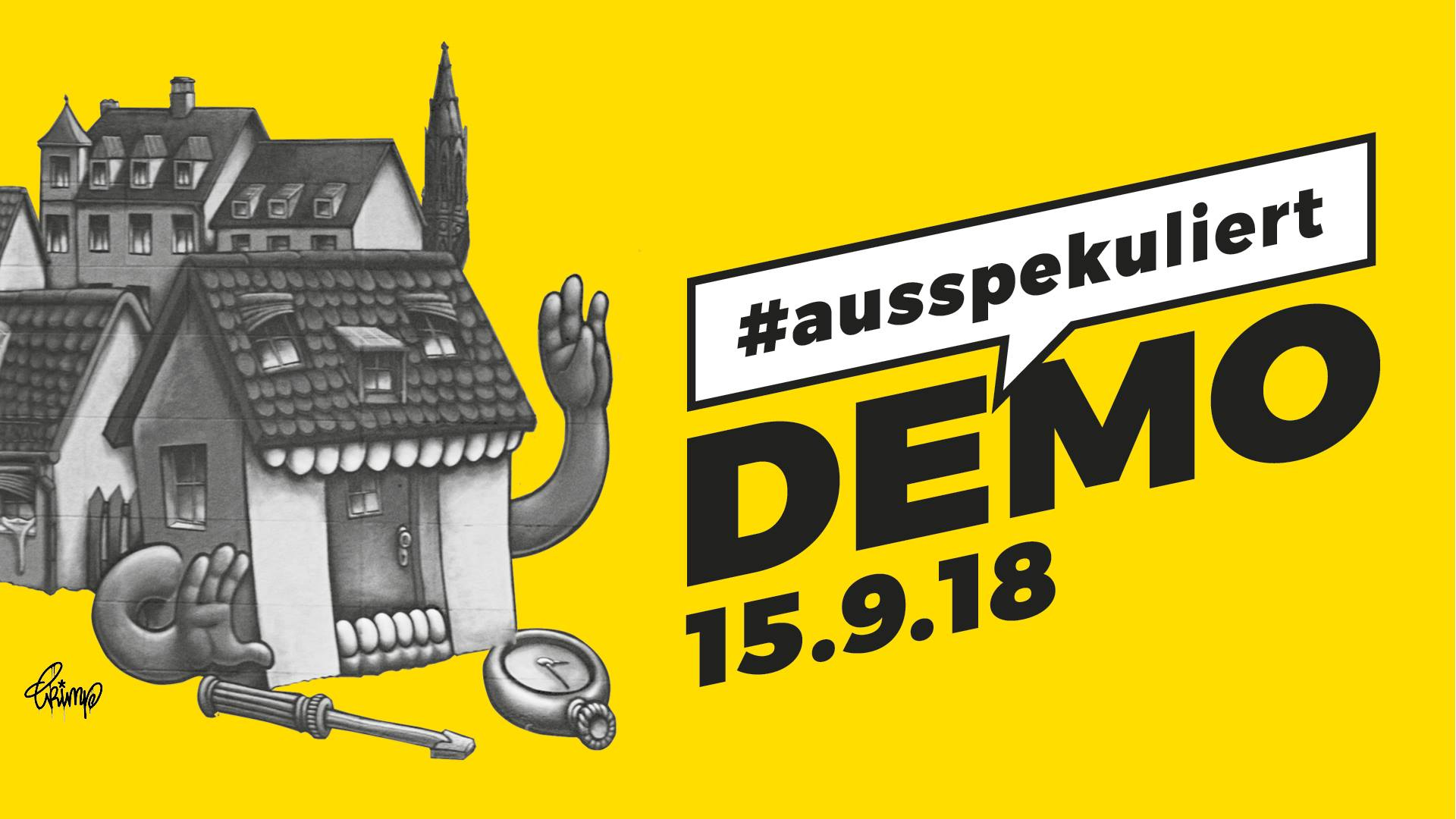 15. September: #ausspekuliert Demo