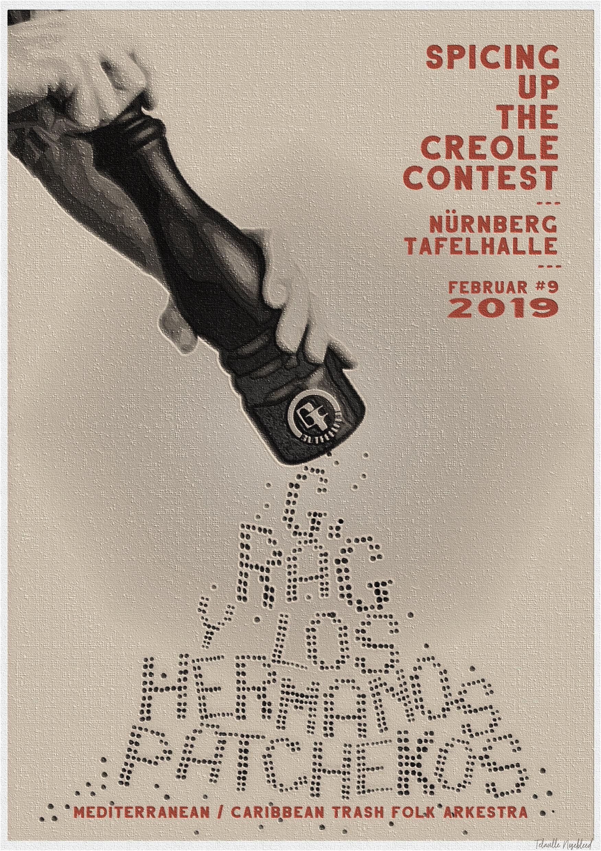 9. Februar: Patchekos beim Creole Contest