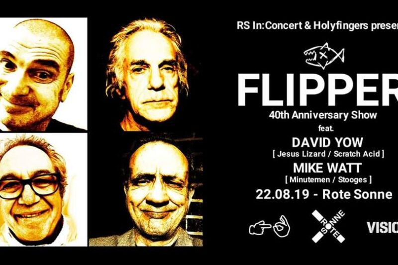 Flipper & Analstahl // 22.08.2019 in der roten sonne